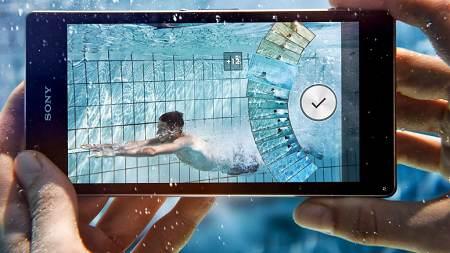 Sony Xperia Z2-水中錄影-US3C