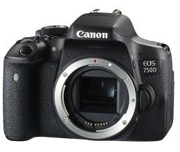 Canon 750D -US3C