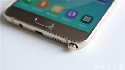 SAMSUNG GALAXY Note 5細部拍攝