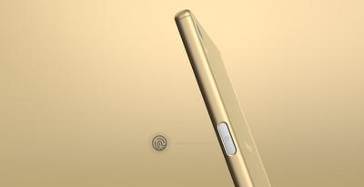 Xperia Z5 指紋感應器