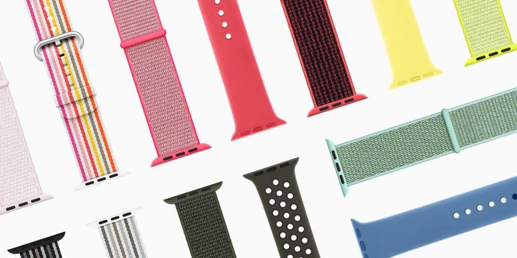 Apple Watch 春季新色錶帶