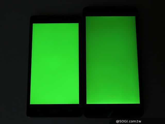 檢查新手機螢幕