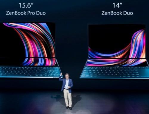 雙螢幕筆電將成主流!華碩發表4K畫質ZenBook Pro Duo