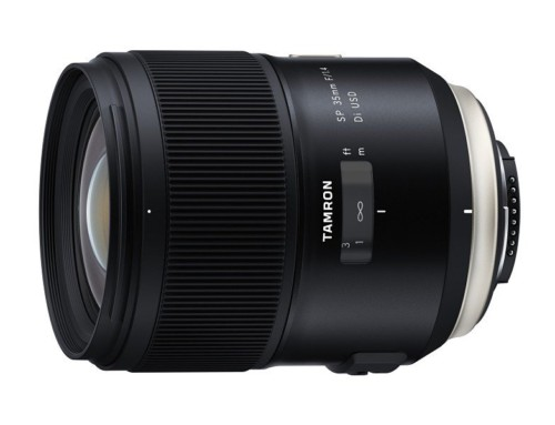 Tamron 推出號稱集結 40 年技術力的 SP 35mm F/1.4 Di USD ,會是 Sigma 35mm F1.4 的好敵手嗎
