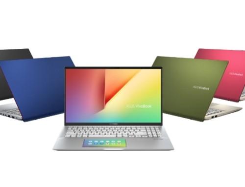 全新ASUS VivoBook S15上市,世界首款搭載智慧觸控板ScreenPad 2.0的多彩筆電 !