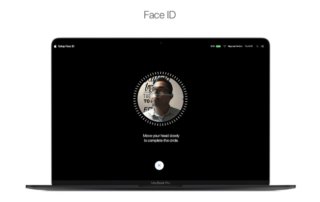 apple mac Face ID
