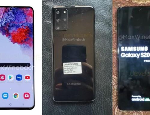 三星Galaxy S20+ 5G版本實機外觀曝光 未搭載Bixby專屬按鍵 搭載四組鏡頭