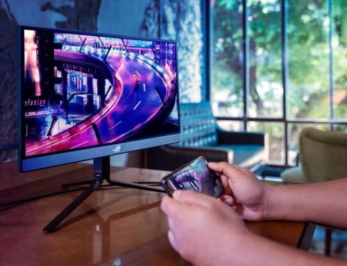 華碩推出電競級外接顯示器 ROG Strix XG17AHP ,達 17.3 吋且支援 240Hz 與 Adaptive Sync