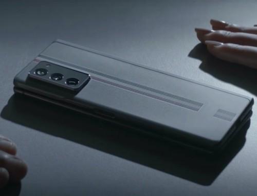 三星 Thom Browne Edition 限量聯名款 Galaxy Z Fold 2 預告影片釋出 採經典條紋設計