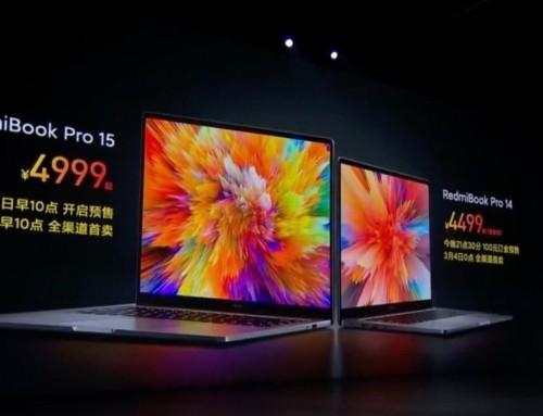 RedmiBook Pro 15 發表 採用 intel 第11代 Core H35 系列筆電處理器 可選擇NV MX450 獨顯 售價 4999 人民幣起